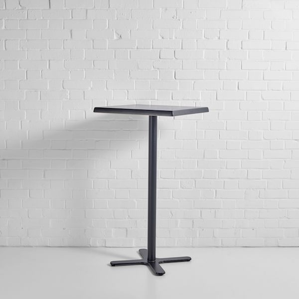Black Poseur Table Hire