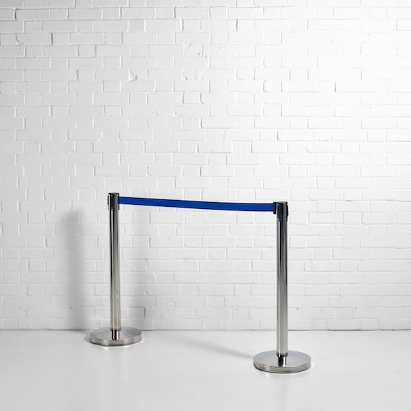 blue tensa barrier hire london