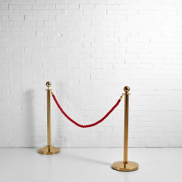 Rope And Post Barrier Hire