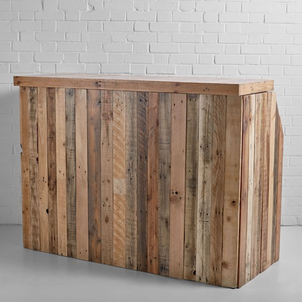Pallet Wood Bar Hire