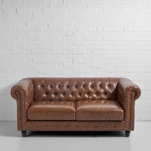 Black Chesterfield Sofa Hire