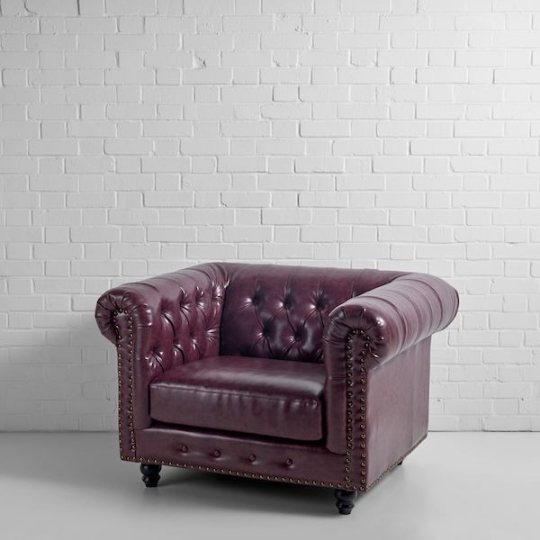 Chesterfield Armchair Hire