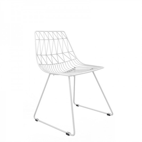 Steel Simplicity Wire Chair Hire