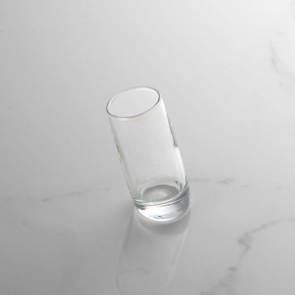 Tilted Shot Glass Hire