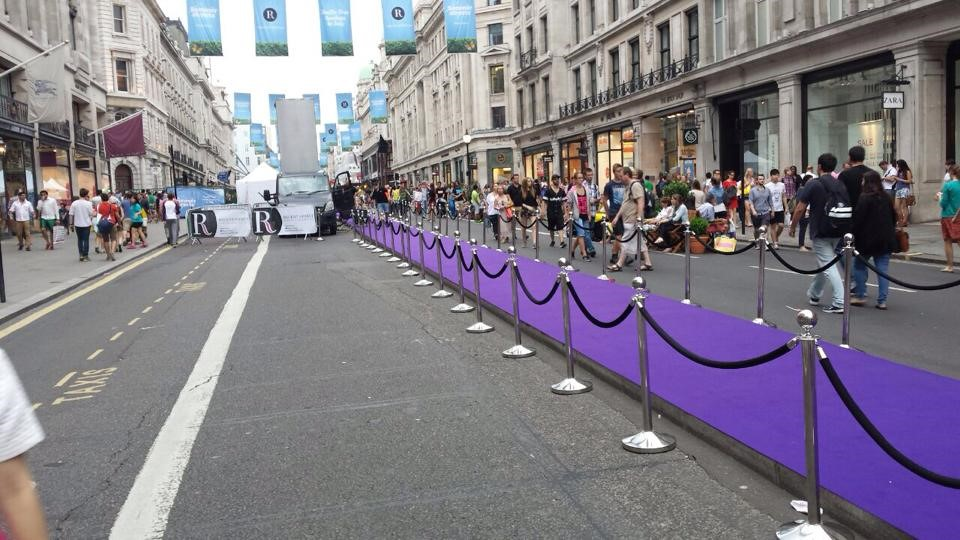 Central London Street Event