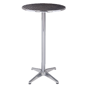 Aluminium Poseur Table Hire