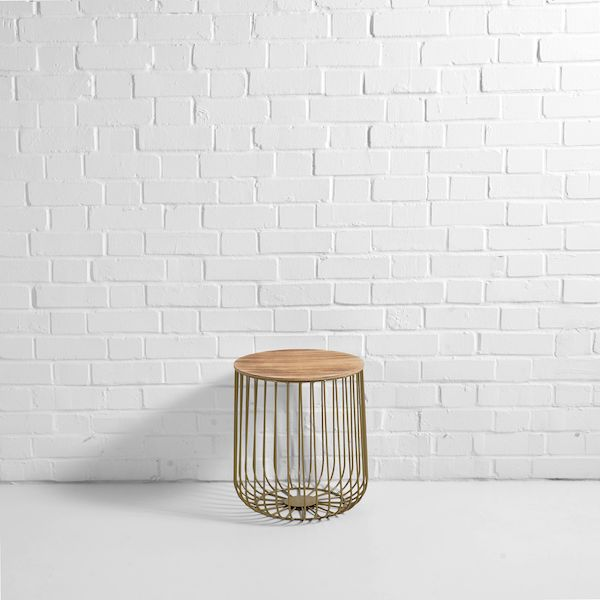 gold-birdcage-side-table-hire
