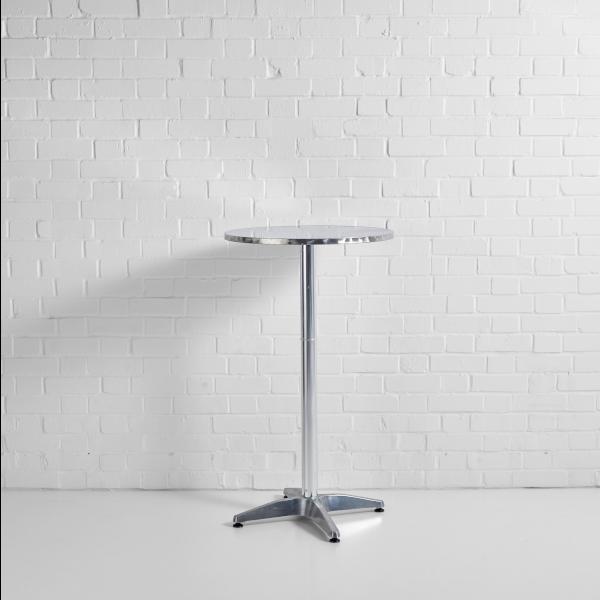 Aluminium Poseur Table Hire