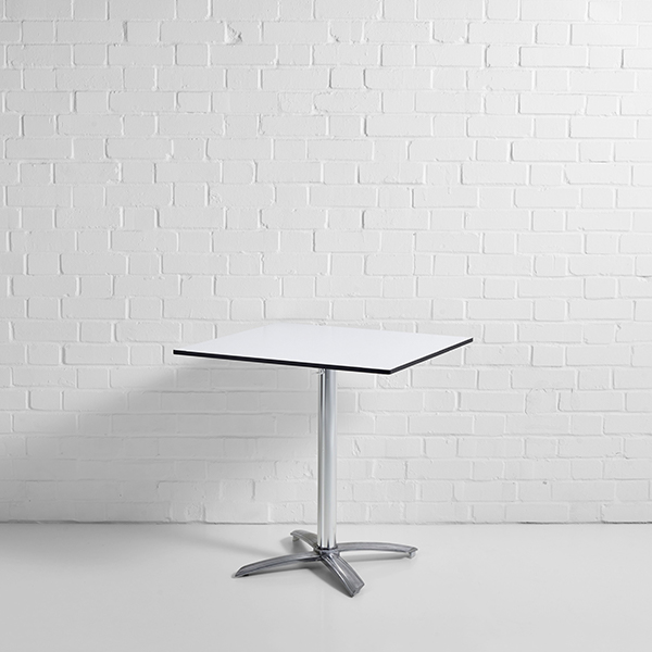 White Square Low Table