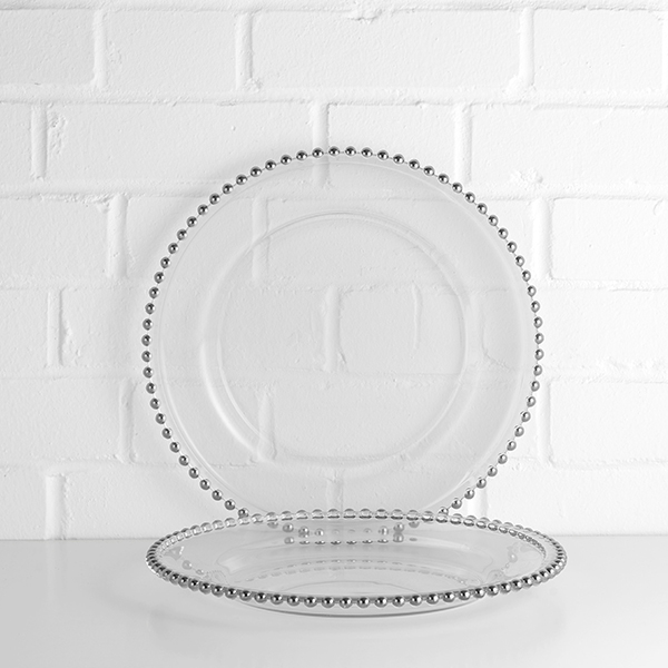Beaded Charger Plate Hire