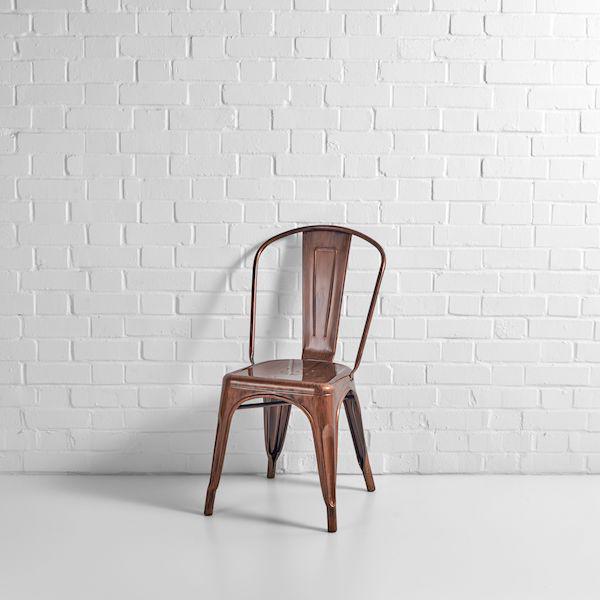 Copper Tolix Chair Hire